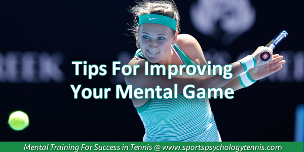 Tennis Mental Game