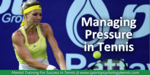 Pressure in Tennis