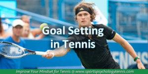 Goal Setting in Tennis