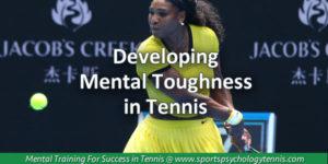 Developing Mental Toughnes in Tennis